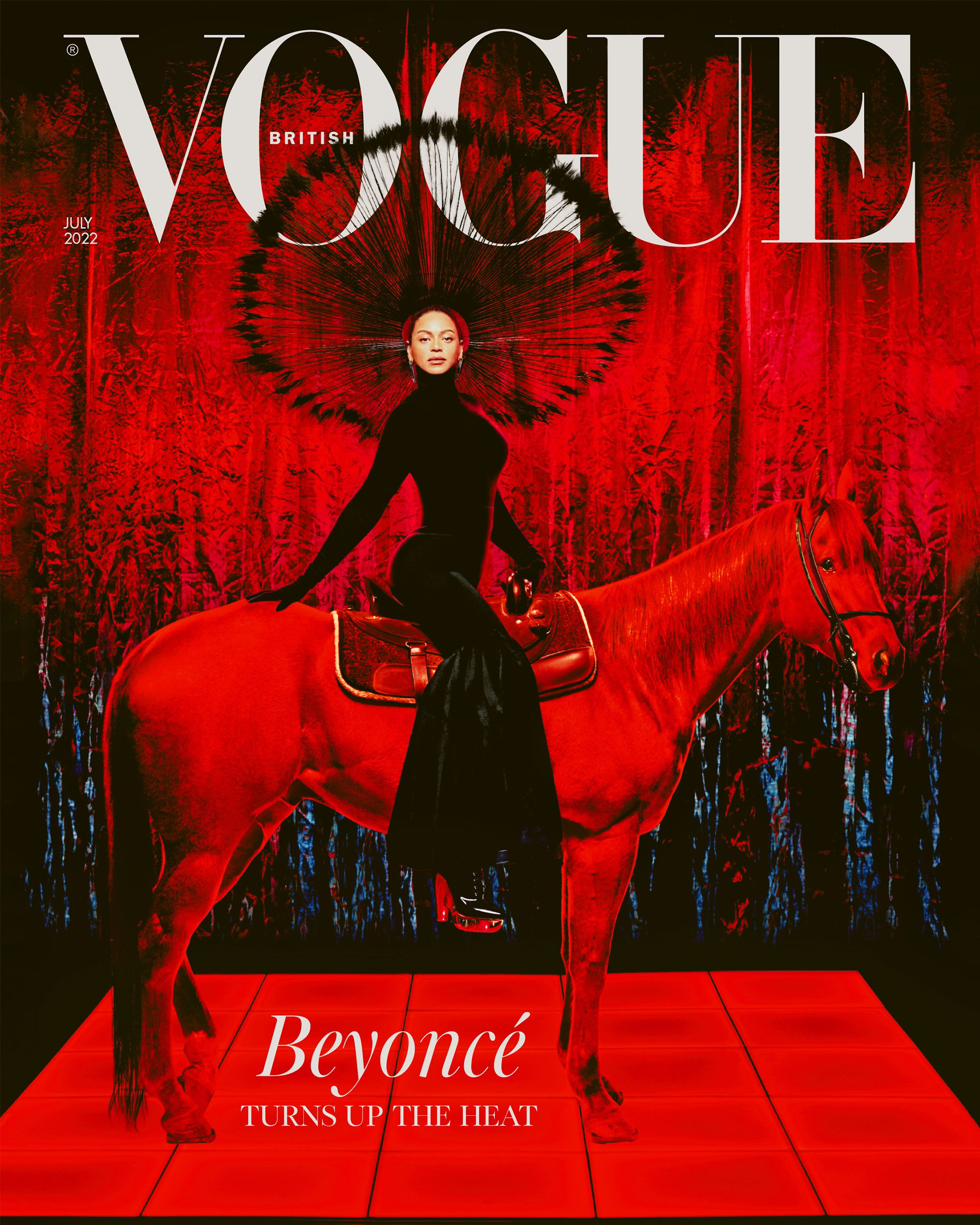 Vogue latest magazine cover