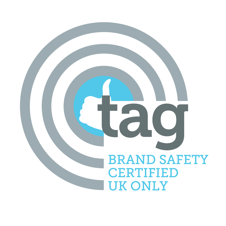 tag brand safety certified - UK only